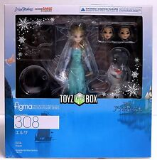 "In STOCK Max Factory Figma Frozen ""Elsa + Olaf"" Disney Frozen Action Figure 308"