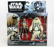 "Star Wars Moroff vs Scarif Stormtrooper Leader 3.75"" Figure 2 Pack Rogue One"