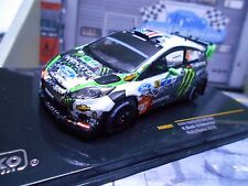 FORD Fiesta RS WRC Rallye Mexic 2012 Ken Block Monster Hoonigan #43 IXO 1:43
