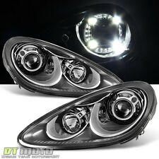 2011-2014 Porsche Cayenne 958 GTS Bi-Xenon Quad LED Adaptive PDLS Headlights Set