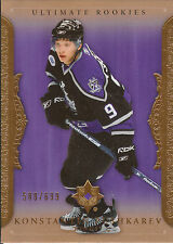 06-07 UPPER DECK ULTIMATE ROOKIE RC #78 KONSTANTIN PUSHKAREV /699 KINGS *2370