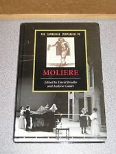 CAMBRIDGE COMPANION TO MOLIERE Bradby & Calder 2006 New