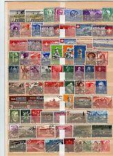 Lot Schweiz o aus  1937 - 1948  ( Nr. 311 - 503 )  KW 178,--  ( 30667 )