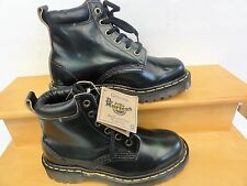 Ladies  Dr.Martens new boots black/green size  size UK 3  US 5