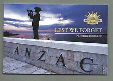 AUSTRALIA 2008 Prestige Booklet - LEST WE FORGET - Complete  RRP $10.95 - MNH