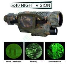 Infrared Dark Night Vision 5X40 IR Monocular Binoculars Telescopes Scope Hunting