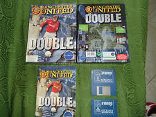 MANCHESTER UNITED DOUBLE - For AMIGA - COMPLETE AND VERY GOOD CONDITIONS