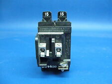 PUSHMATIC ITE SIEMENS P1515 Twin 15 Amp Duplex BREAKER $ave