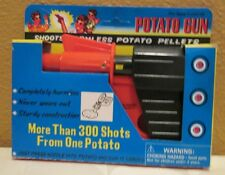 Potato Gun Safe Unbreakable Shoots Harmless Potato Pellets Retro Party Gift Toy