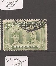 Rhodesia Double Head SG 122 VFU (7dau)