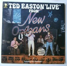 LP Ted Easton Live New Orleans Max Kaminski Dutch Jazz Unplayed Vinyl 1972