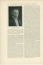 1904 Magazine Article History of Standard Oil Company Business Monopoly