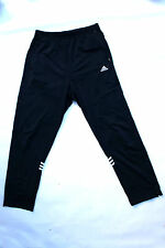Adidas Vintage 80s Trefoil Dark Blue Tracksuit Pants Mens L LARGE D7 UK42/44 FAB