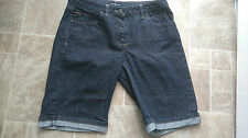 Ladies  / mens Henri LLoyd denim summer shorts - dark blue - 30 inch waist