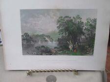 Vintage Print,LOCH KATRINE,T.Alloms Views Scotland,1839