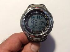 Casio Men's SPF70  Sea Pathfinder Solar Depth meter Watch 2825.