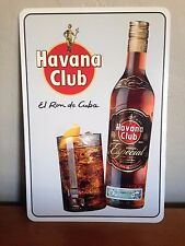 "Havana Club Ron Lover's Metal Sign 12"" x 18"""