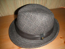 Stetson WOOL BLEND fedora hat trilby LARGE