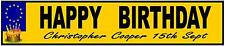 Personalised Birthday Gift, Novelty Number Plates, Personalsed Number Plates,