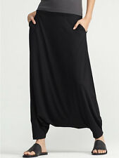 NWT Eileen Fisher  Black Harem Pants  size XL