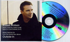 RUSSELL WATSON Radio Tracks From Outside In 2007 UK 2-track promo only CD