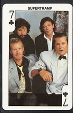 Dandy Gum Card - Rock'n Bubblegum Card - Musical Group - Supertramp