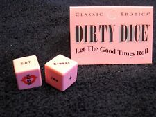 New Dirty Dice Erotic Sex Foreplay Positions Adult Party Game 2 Dice Fetish Fun