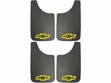 4PK Chevy Yellow Bowtie 11x19 Mud Flaps Splash Guards for Truck Van SUV and Car