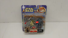 Star Wars Attack of the Clones Yoda and Super Battle Droid Force Power 2 Pack!