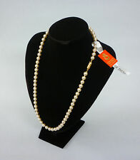 Vintage Manacor Mallorca Perlas Sureda 24-inch Pearl Necklace Single Strand