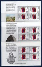 IRLANDE Ireland Eire 1989 Apotres Les 3 Feuillets diff. Yv 686 MNH **