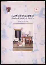 il MUSEO di CHIMICA dell'università di GENOVA-piccola guida