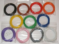 55m 24/0.2mm 18-19 AWG  Equipment Wire Pack  11 Colours- 0.75mm2 - 1000v - 4.5A