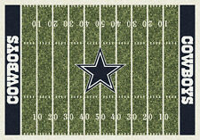 "5x8 Milliken Dallas Cowboys Sports NFL Home Field Area Rug - Approx 5'4""x7'8"""