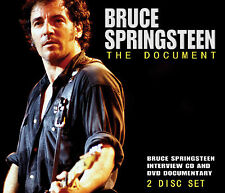 BRUCE SPRINGSTEEN New Sealed 2016 INTERVIEWS & RARE FOOTAGE DVD & CD SET