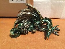 Design Toscano The Gothic Dragon of Mordiford Statue, Full Color, New, Free Ship