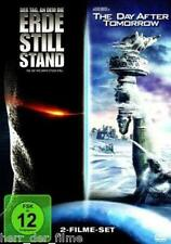 DER TAG, AN DEM DIE ERDE STILL STAND + THE DAY AFTER TOMORROW (2 DVDs) NEU+OVP