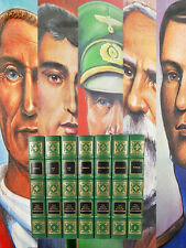 Easton Press GREAT MILITARY COMMANDERS Leather Bound Limited Edition 7 Vol. VF