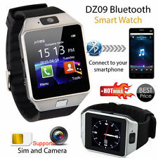 DZ-09 MTK6260A Bluetooth Smart Wrist Fitness Watch Phone for IOS Anroid Silver