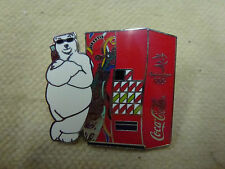 "Coca Cola ""Polar Bear with Vending Machine"" Pin Sydney 2000 Olympic Games"