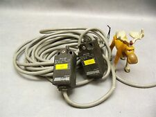 SAIA XM 8-000 Limit Switch w Cable Lot of 2