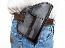 Sendero Tactical Full Size Half Cake Model 1911 Leather Holster RH Black