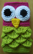 "Hand made mobile phone ipad iphone  cover sleeve sock crochet 2.5""x 4.5"""