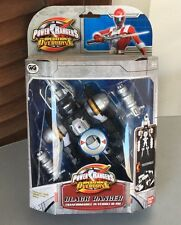 POWER RANGERS OPERATION OVERDRIVE BLACK TURBO DRILL RANGER# BANDAI NIB