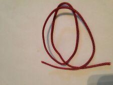 20 mètres 2MM rouge cerise romain/store vénitien-rideau cordon-pièces de rechange