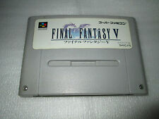 FINAL FANTASY 5 / super famicom / snes / nintendo