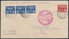 HINDENBURG 10TH NORTH AMERICAN FLIGHT COVER WITH NEDERLAND STAMPS BR9906