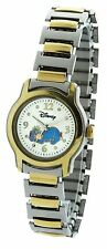Disney Ladies Watch #MU1251  In Two Tone 28MM  Silver Gold Stretch Band