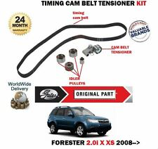 FOR SUBARU FORESTER 2.0 150BHP EJ204 3/2008-  NEW TIMING CAM BELT TENSIONER KIT