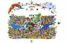Pokemon - Amazing - Huge Poster 24 x 15 inch  ( Fast Shipping )  in Tube 109